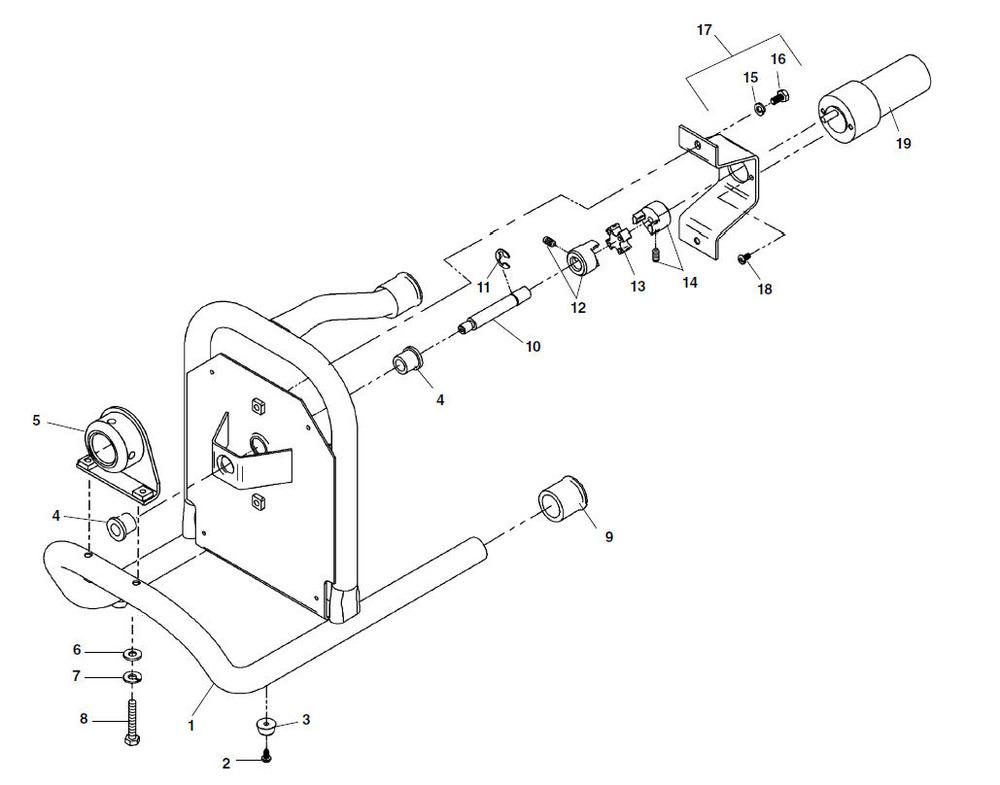 parts k 40 sink machine ridgid storeRidgid K40 Snake Wiring Diagram #1