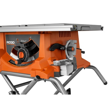Heavy Duty 10 Portable Table Saw With Stand Ridgid Professional Tools