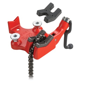 "BC210PA 1/2"" - 4-1/2"" OD Top Screw Bench Chain Vise for Plastic Pipe"