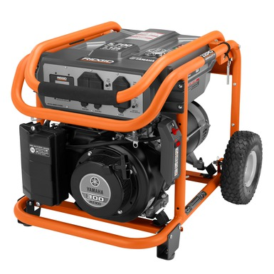ridgid 5700 watt yamaha powered portable generator ridgid
