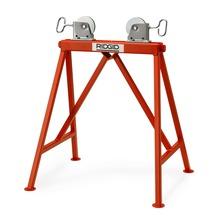 Justerbart stativ med stålruller