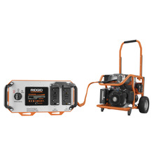 Generators ridgid professional tools for Ridgid 6800 watt generator with yamaha engine