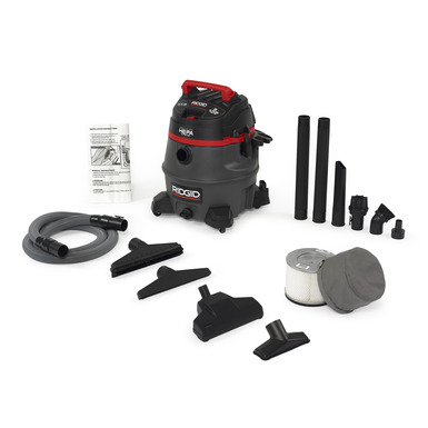14 Gallon With Certified Hepa Filtration Wet Dry Vacs