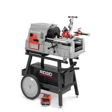 rigid pipe threading machine
