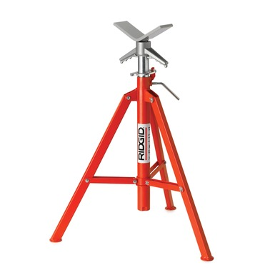 V head pipe stands threading pipe fabrication ridgid for Fabrication stand