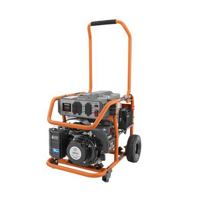 RIDGID 6800 Watt Yamaha Electric Start Gas Powered Portable Generator