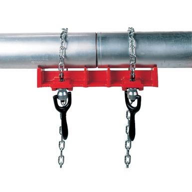 Étau pour soudage de tuyaux droits