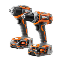 RIDGID® GEN5X Brushless 18V Drill/Driver and 3-Speed Impact Driver Combo Kit