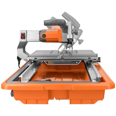 "7"" Job Site Tile Saw with Laser"