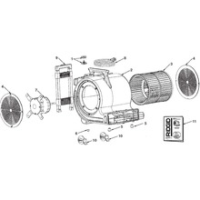 AM2550, AM2500, AM25001 Air Mover Assembly