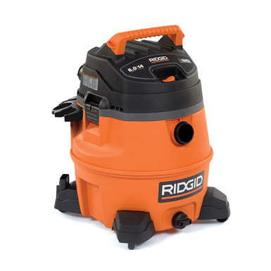 Aspirateur eau et poussière haute performance de 14 gallons
