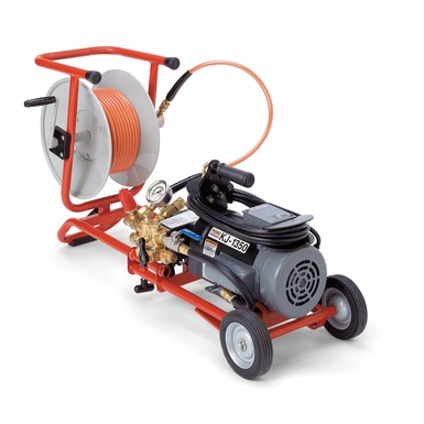 Limpiadora de desagües de alta presión KJ-1350