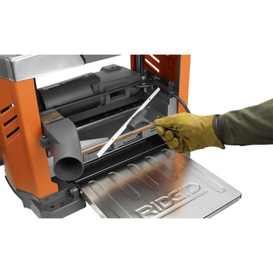"""13"""" Thickness Planer With 3-Blade Cutterhead"""