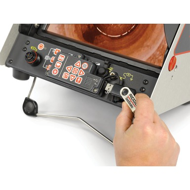 Monitor de grabación digital CS10