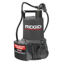 Pompe d'assèchement 1/4 HP à marche/arrêt automatique