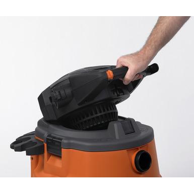 Aspirateur sec/humide de 60litres (16gallons) avec souffleur amovible