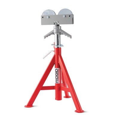 "RJ-98 24"" - 42"" Rolller Head Low Pipe Stand"