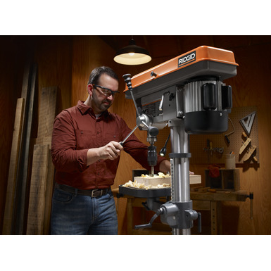 15 in. Drill Press with LED