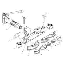 HB382 Hydraulic Pipe Bender