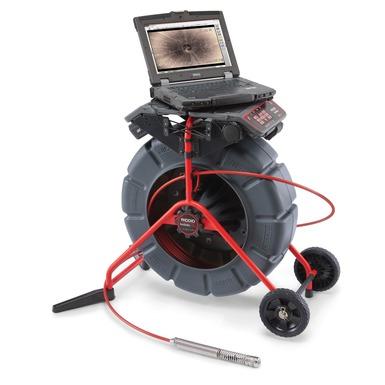 Interfaz digital de computadora portátil para inspecciones SeeSnake®