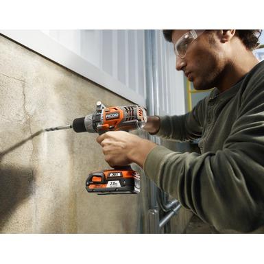 Juego de taladro/impulsor con baterías de ion-litio de 18 V