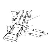 258XL Pipe Roller Attachment