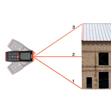 micro LM-400 avancerad laseravståndsmätare