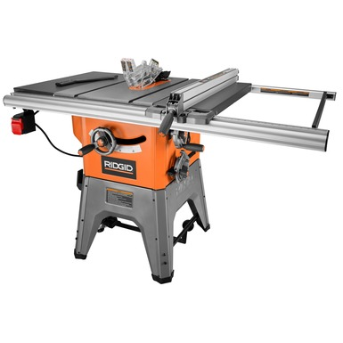 10 in cast iron table saw power tools ridgid tools 10 in cast iron table saw r4512 keyboard keysfo Images