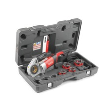 """Accionamiento motorizado con cabezales troquelados de 1/2""""-1 1/4"""" NPT 11R, caja y brazo de soporte"""