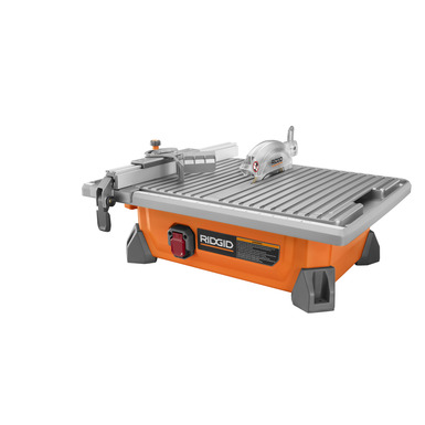 "7"" Job-Site Wet Tile Saw with Laser"