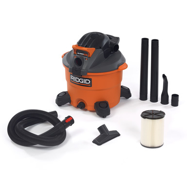 12 Gallon Wet/Dry Vac With Detachable Blower