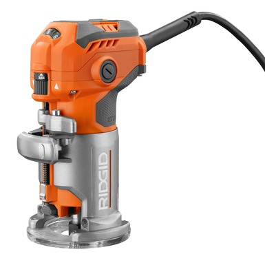 5.5 Amp Corded Compact Router | Power Tools | RIDGID Tools