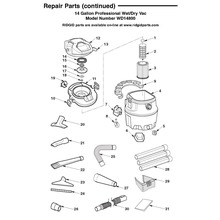 WD14800, WD1481 Vac Assembly