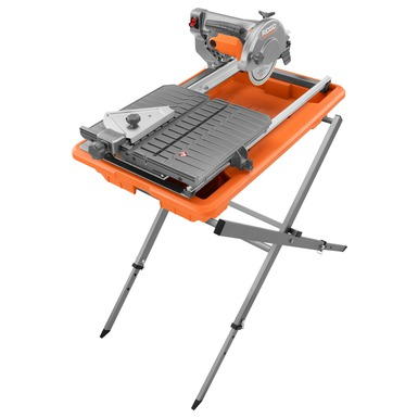7 In Job Site Tile Saw With Laser Power Tools Ridgid