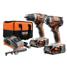 18V Compact Drill/Driver and Impact Driver Combo