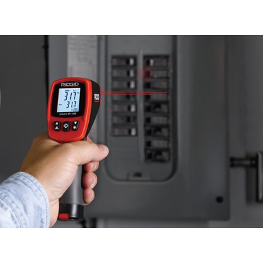 micro IR-100 Non-Contact Infrared Thermometer in Action