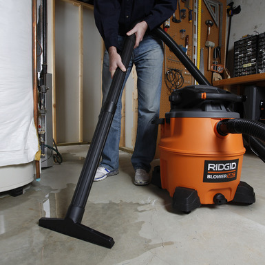 16 Gallon Wet/Dry Vac with Detachable Blower