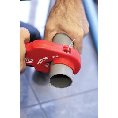 Cortador de tubos plásticos de desagüe PTEC 5000