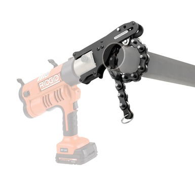 Ridgid press snap soil pipe cutter ridgid professional for Soil knife home depot