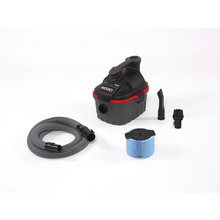 Aspirateur eau et poussière portable de 4 gallons (4000RV)