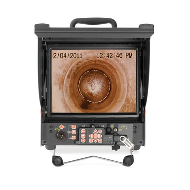 Moniteur d'enregistrement numériqueCS10 en action écran d'affichage
