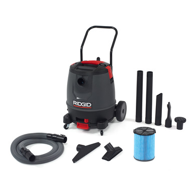 16 Gallon Motor-On-Bottom Wet/Dry Vac