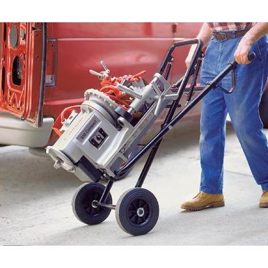 El modelo compacto 300 con el soporte ruedas plegable, modelo 250, es ideal para aplicaciones móviles.