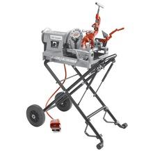 """Portabrocas de percusión de 1/2"""" - 2"""" NPT c/ soporte de ruedas plegable modelo 250"""