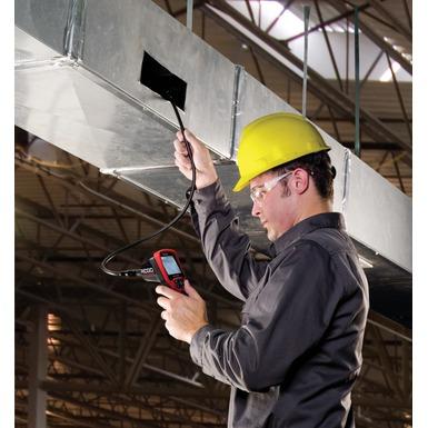 Cámara de inspección micro CA-300 en funcionamiento