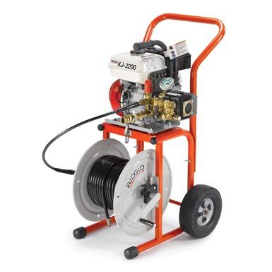 Limpiadora de desagües de alta presión KJ-2200