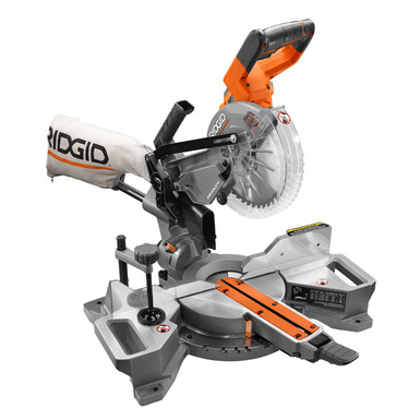 18V 7-1/4 in. Cordless Brushless Dual Bevel Sliding Miter Saw Kit